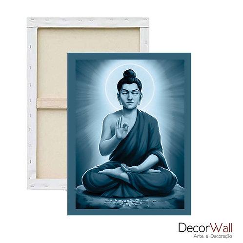 Quadro Decorativo Canvas Meditacao Espiritualidade Estátua de Shiva