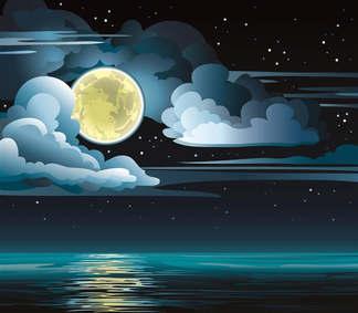 Artes visuais 071-Luar da noite vetor.jpg