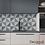 Thumbnail: Adesivo para Cozinha Abstrato Verde e Cinza