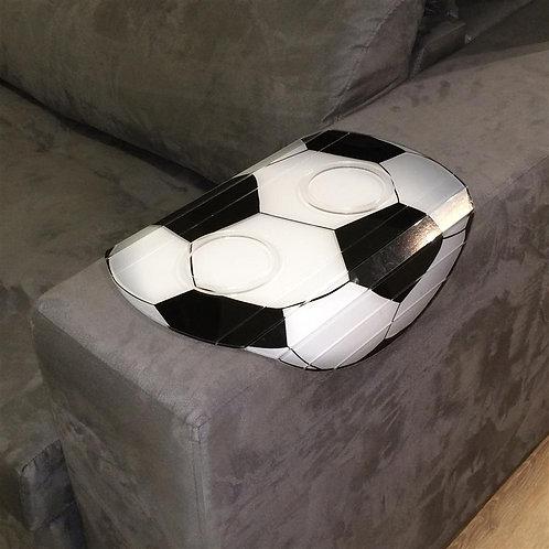 Esteira Para Sofá Em Acrílico Bola de Futebol