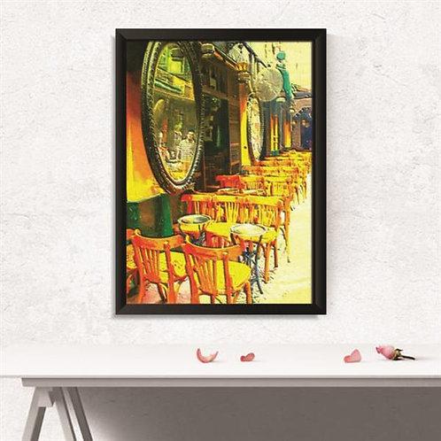 Quadro Bar Arte de Pintura  - QD011
