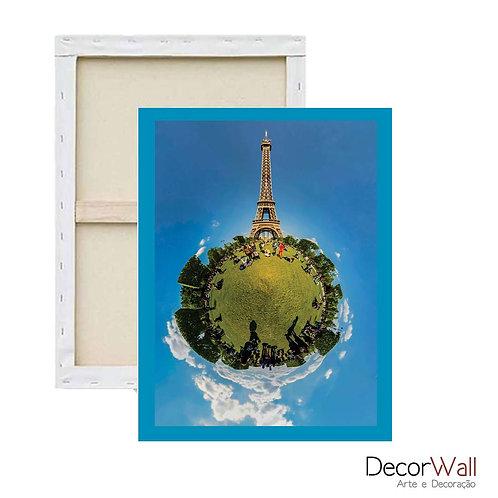 Quadro Tela Torre Eiffel mini mundo