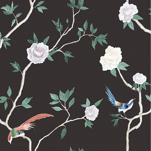 Papel de Parede Floral Vinílico - Diplomata3156