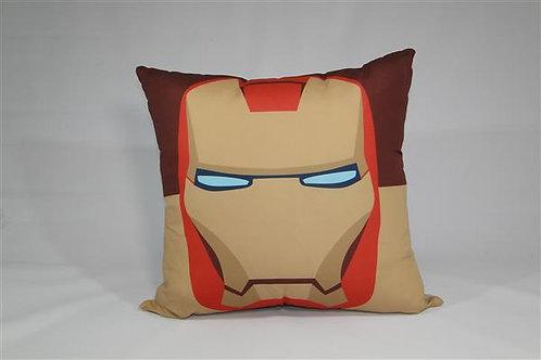 Almofada em Oxford 45cm x 45cm Comics Homem de Ferro
