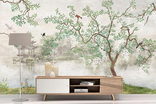 Foto Mural Artístico Arvore Japonesa
