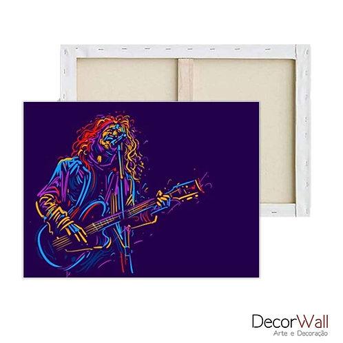Quadro Decorativo Canvas Musica Rock