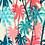 Thumbnail: Papel de Parede Botânico Coqueiros Colorido