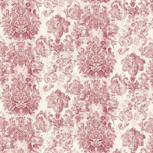 Papel de Parede Floral Vintage Vinílico - Diplomata-3144