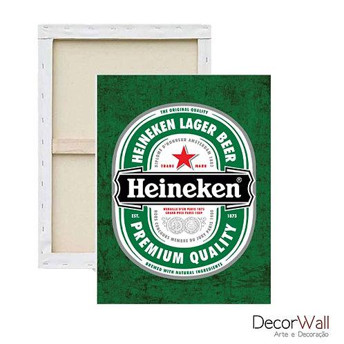 Quadro Canvas Cerveja Heineken