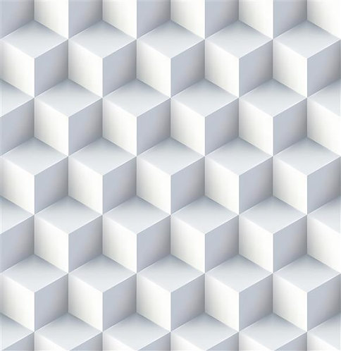 Papel de Parede Auto Adesivo 3D Geométrico