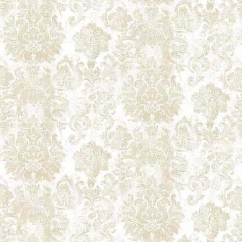 Papel de Parede Floral Vintage Vinílico - Diplomata-3115