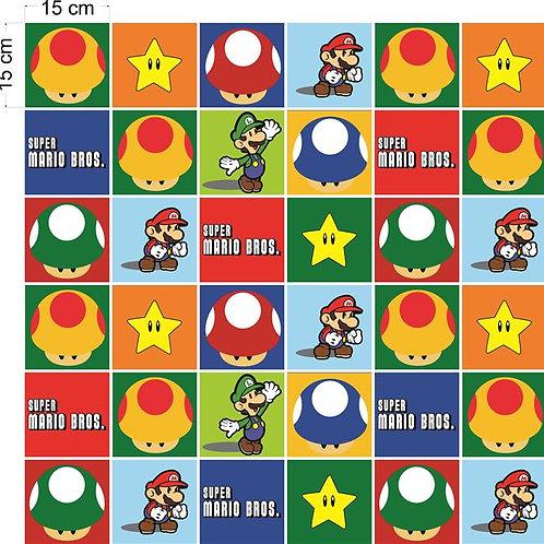 Adesivos Para Azulejo - Super Mario