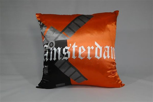 Almofada em Cetim 45cm x 45cm Amsterdã