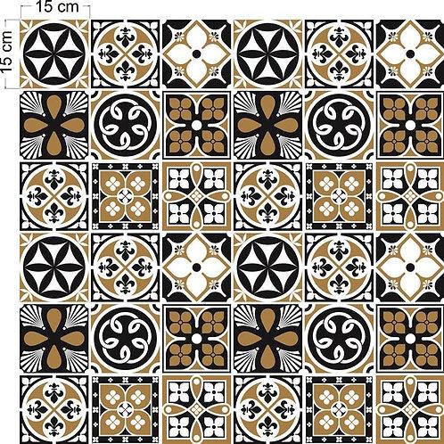 Adesivos Para Azulejo - Português Areia