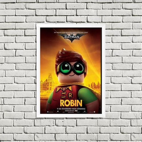 Quadro Robin Lego - QD043
