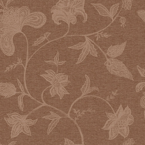 Papel de Parede Floral Vinílico com Textura - Natural1409