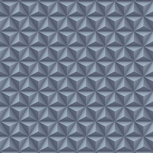 Papel de Parede 3D Geométrico  - Diplomata3152