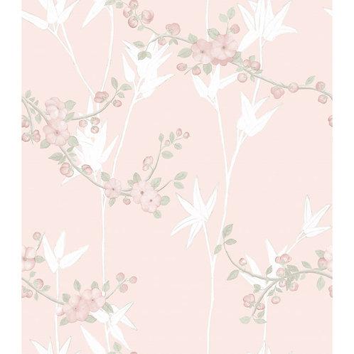 Papel de Parede Floral Vinílico - Diplomata3118