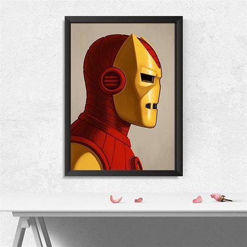 Quadro Homem de Ferro - QD037