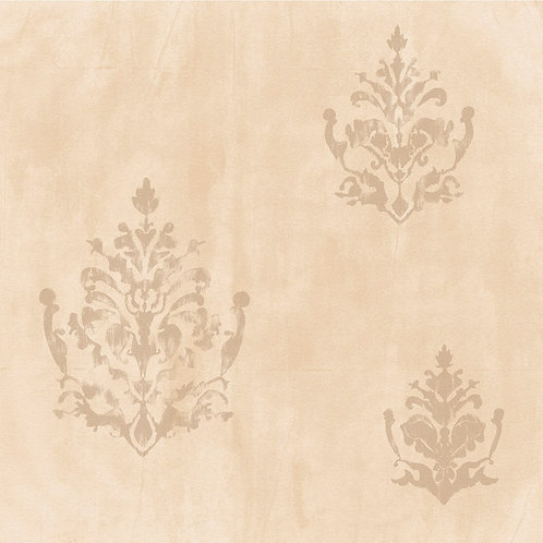 Papel de Parede Textura e Arabesco- Natural1437