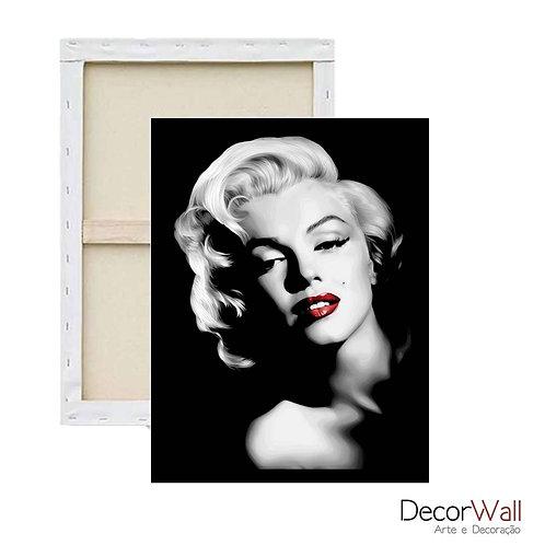 Quadro Decorativo Canvas Marilyn Monroe