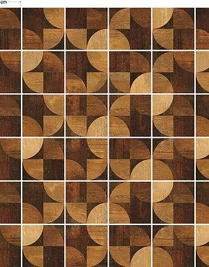 Adesivos Para Azulejo - Geométrico de Madeira