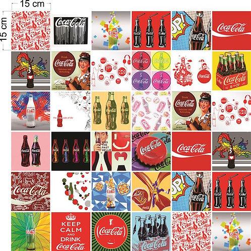 Adesivos Para Azulejo - Coleção Coca