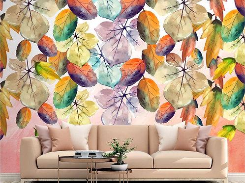Cop Foto Mural Artístico Arte de Flores