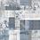 Thumbnail: Adesivo para Cozinha Abstrato Azul e Cinza