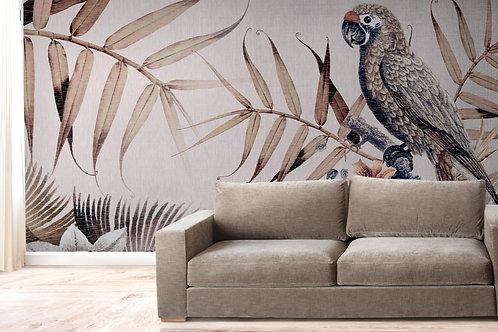 Foto Mural Artistico Arara Tropical