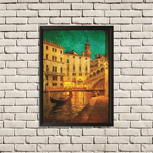 Quadro Veneza Vintage - QD032