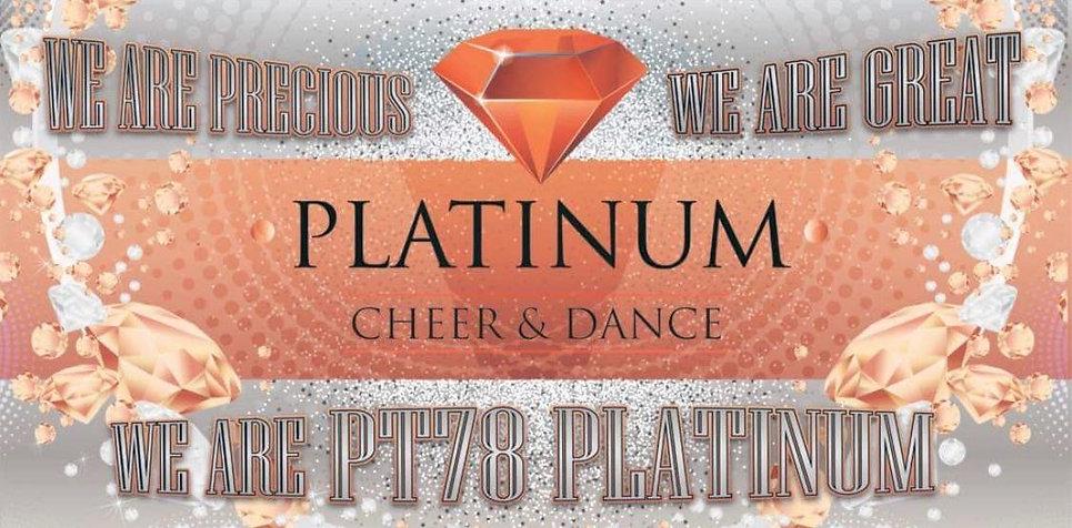 Platinum cheer and dance