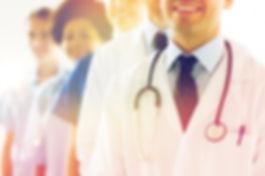 health care, profession, people and medi