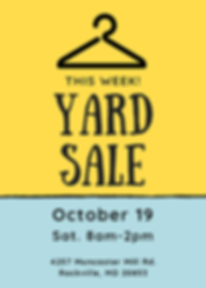 Yellow Cartoon Yard Sale Flyer.png