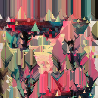 Glitch Painting by Saylor Surkamp