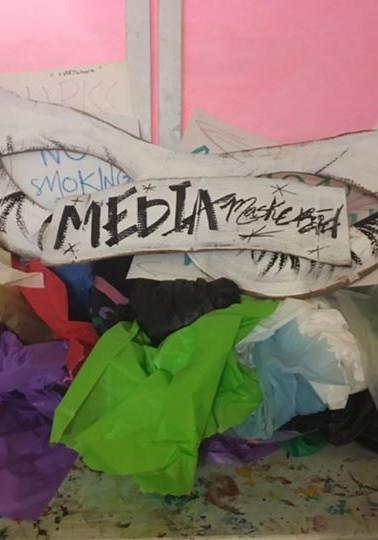 Media Maskerad by Saylor Surkamp
