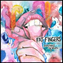 FAT FINGERS ALBUM COVER BY SAYLOR SURKAMP