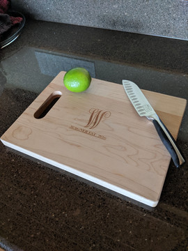 Simple Engraving Cutting Board