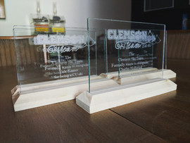 Clemson Ski Team Award