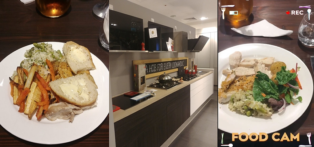 Food Cooked on Neff Oven/Hob/Hoods