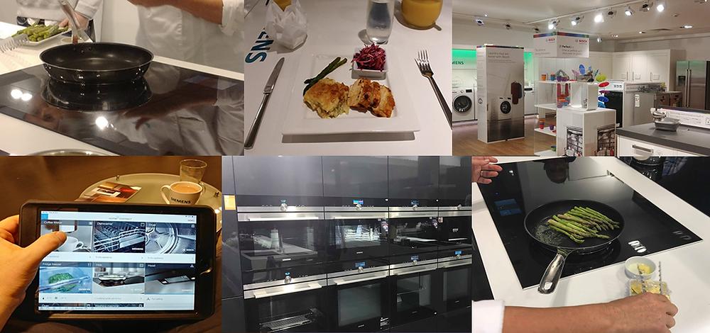 Bosch Washing Machine, Siemens Ovens, Siemens Induction Hob, Bosch,Siemens Home Connect