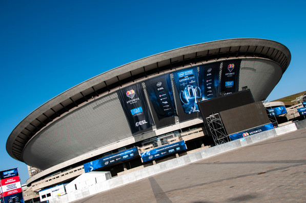 IEM Katowice Spodek Arena Outside