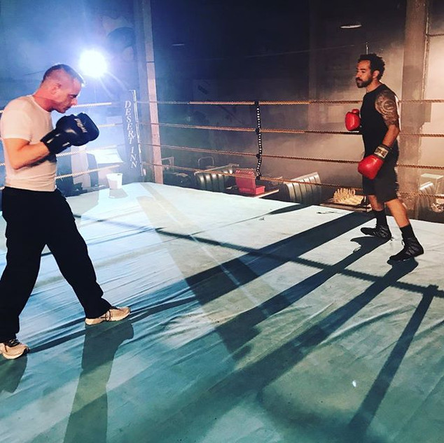 Fun night of fight choreography for @war