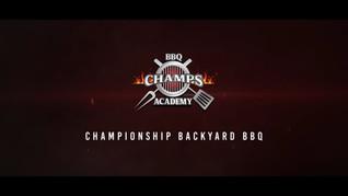 Champion Backyard BBQ Promo