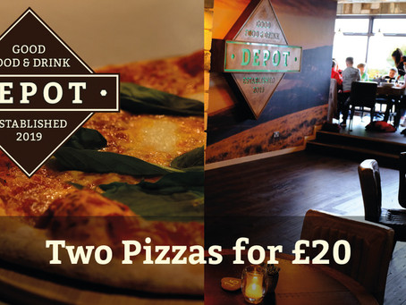 2 Pizzas for £20