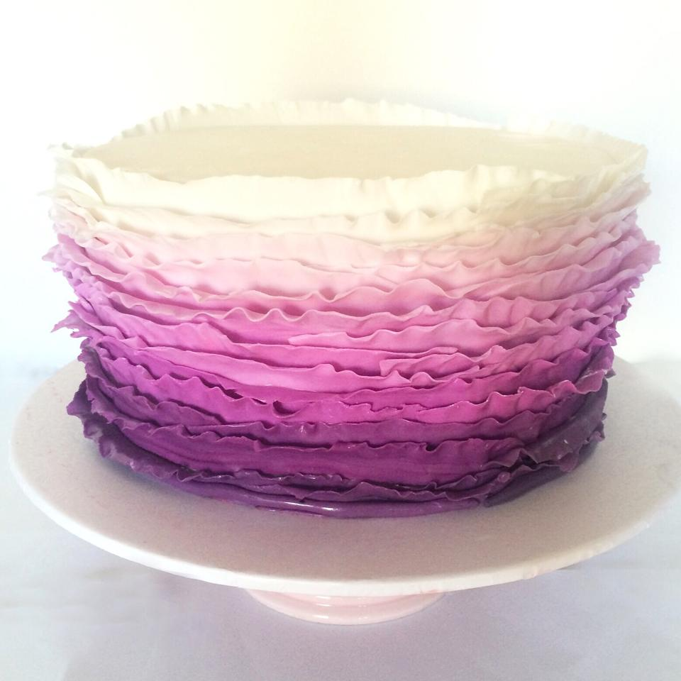 Purple Ombre Cake Images