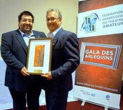 La Troupe reçoit le prix Guy-Beaulne