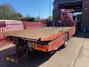 Used Dyson 6ton slidebed & 3ton rear lift