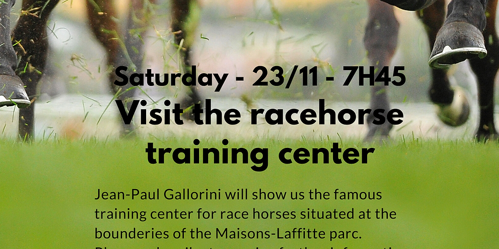 Visit the Racehorse Training Center M-L