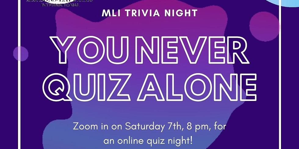 Trivia night: You never quiz alone! Part II